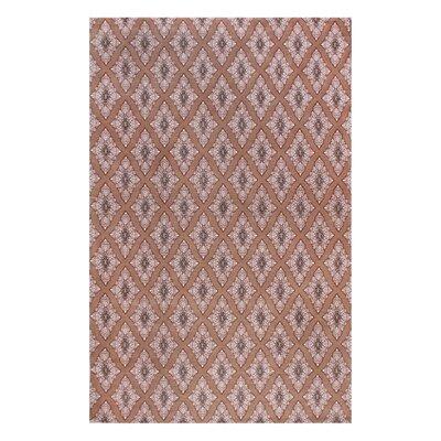 Rosalida Hand Woven Brown Area Rug Rug Size: 5 x 8
