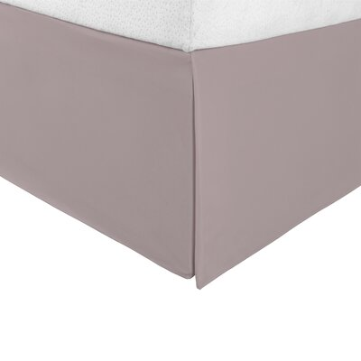 Bilbrey Infinity Bed Skirt Color: Gray, Size: King