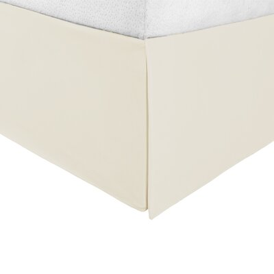 Bilbrey Infinity Bed Skirt Color: Ivory, Size: Queen