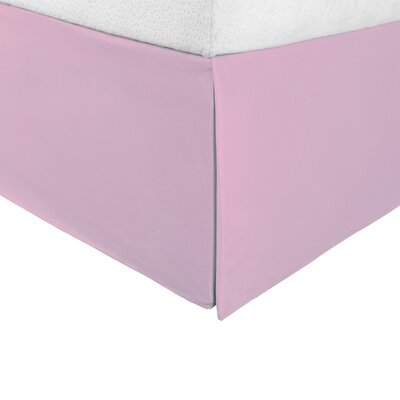 Bilbrey Infinity Bed Skirt Color: Lilac, Size: Queen