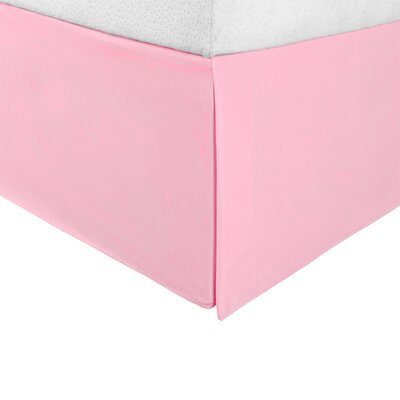 Tiemann Bed Skirt Size: Twin XL, Color: Pink