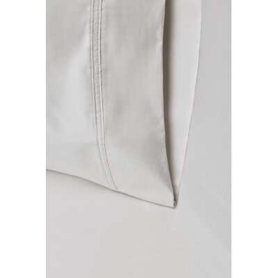 Cullen 800 Thread Count Cotton Pillowcase Size: 20 H x 30 W, Color: Silver