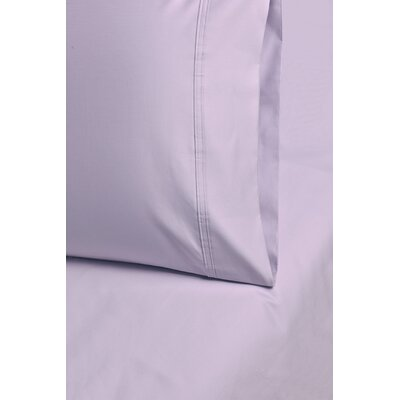 Larksville 800 Thread Count Cotton Pillowcase Size: 20 H x 30 W, Color: Lilac