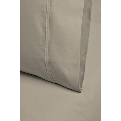 Larksville 800 Thread Count Cotton Pillowcase Size: 20 H x 30 W, Color: Ivory