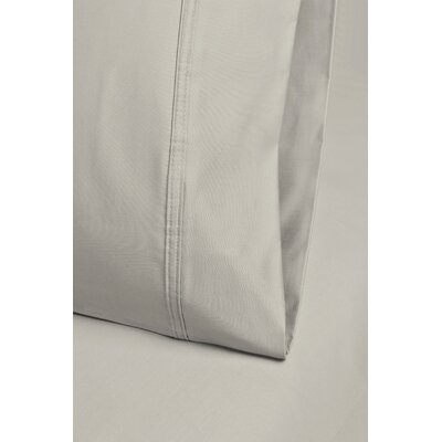 Cullen 800 Thread Count Cotton Pillowcase Size: 20 H x 30 W, Color: Stone