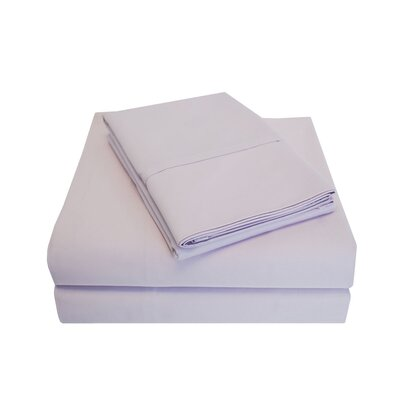 Larksville 800 Thread Count Cotton 6 Piece Sheet Set Size: Full/Double, Color: Lilac