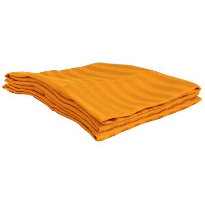 Sheatown Pillowcase Size: King, Color: Orange