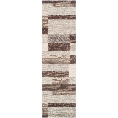 Rockwood Slate Area Rug Rug Size: Runner 23 x 8