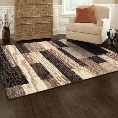 Katelynn Chocolate Area Rug Rug Size: Runner 2 x 11