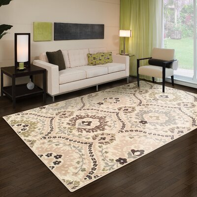 Augusta Ivory Area Rug Rug Size: 8 x 10