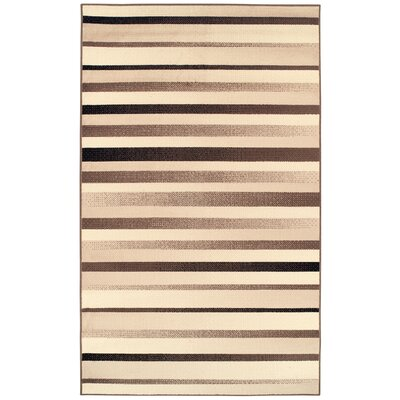 Buckingham Brown/Beige Area Rug Rug Size: Rectangle 8 x 10