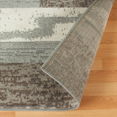 Audrey Light Blue/Gray Area Rug Rug Size: Rectangle 5 x 8