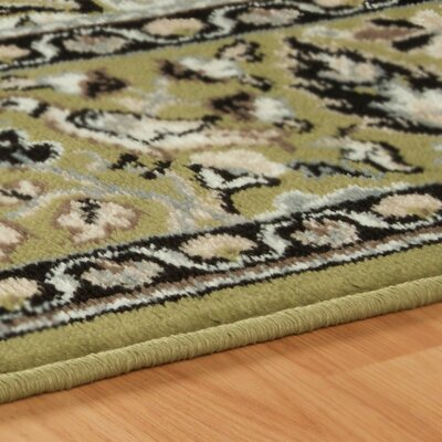 Centerburg Superior Green Area Rug Rug Size: Rectangle 4 x 6