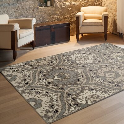 Castleford Superior Beige Area Rug Rug Size: Rectangle 2 x 3