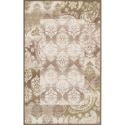Ellen Brown Area Rug Rug Size: 5 x 8