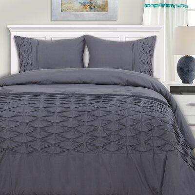 Garren Superior Down Alternative Comforter Set Size: King/California King
