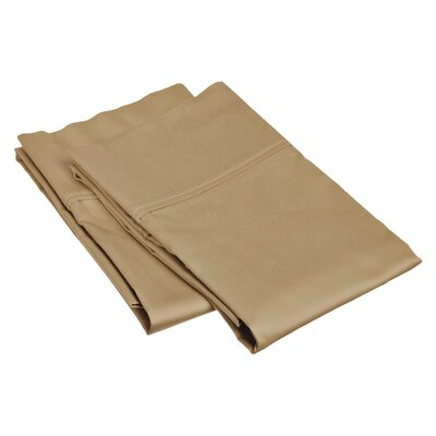 Pillow Case Size: Standard, Color: Taupe