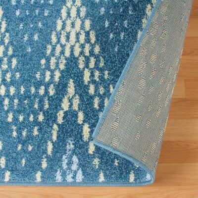Vergara Arete Blue Area Rug Rug Size: 8 x 10