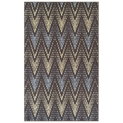 Vergara Arete Slate Area Rug Rug Size: 5 x 8