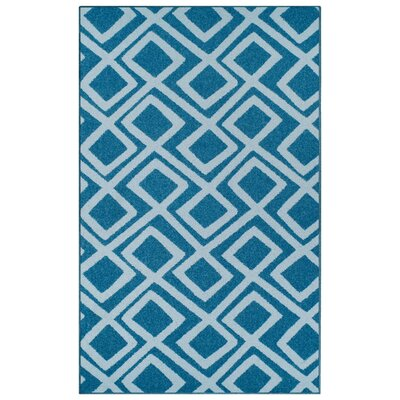 Darroll Flagstone Blue Area Rug Rug Size: Rectangle 5 x 8