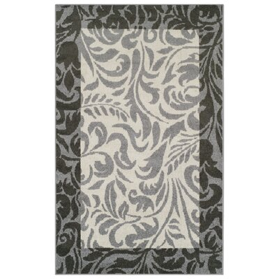 Camillus Gray Area Rug Rug Size: 5 x 8