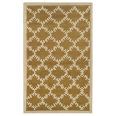 Stroudsburg Apricot Area Rug Rug Size: 5 x 8