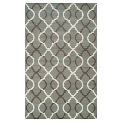 Joan Blue Indoor Area Rug Rug Size: 4 x 6
