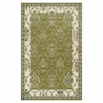 Anselm Olive Green Area Rug Rug Size: 4 x 6