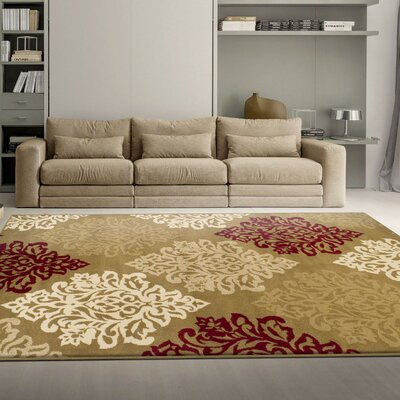 Burbank Brown Area Rug Rug Size: 5 x 8