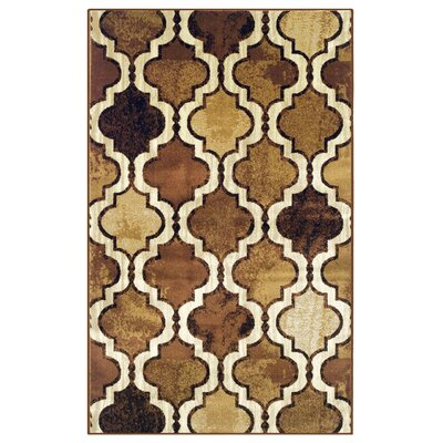 Colena Brown Area Rug Rug Size: 5 x 8