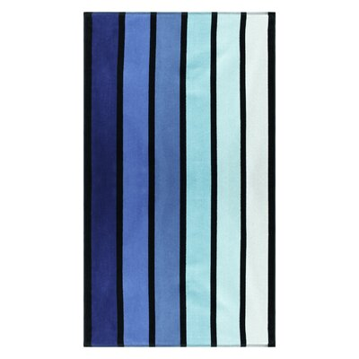 Contemporary Striped Beach Towel