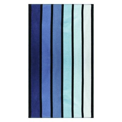 Contemporary Striped Beach Towel