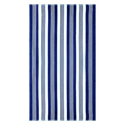 Striped 100% Cotton Beach Towel