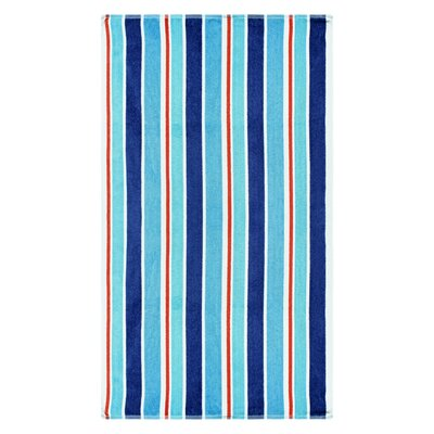 Striped 100% Cotton Oversized Beach Towel