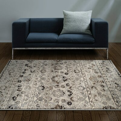 Callicoon Fawn Beige Area Rug Rug Size: 5 x 8