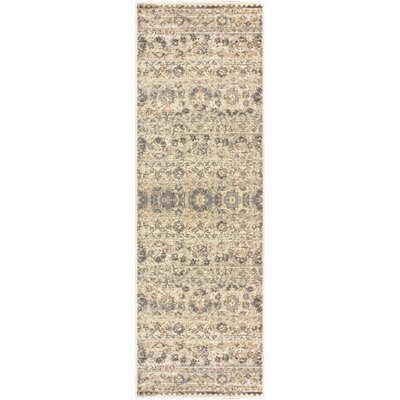 Callicoon Beige Area Rug Rug Size: Rectangle 26 x 8