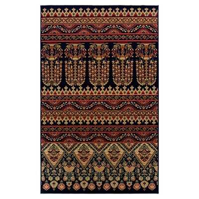 Saylorsburg Brown Area Rug Rug Size: Rectangle 5 x 8