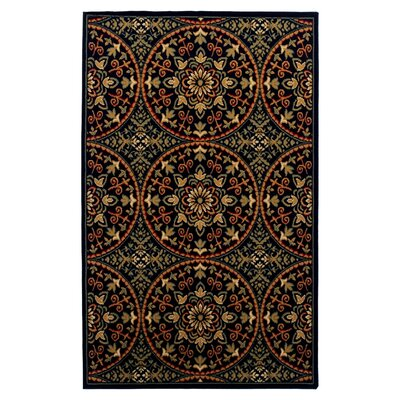 Dodington Medallion Red Area Rug Rug Size: Rectangle 4 x 6