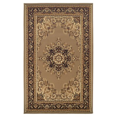 Dodington Beige Area Rug Rug Size: Rectangle 4 x 6