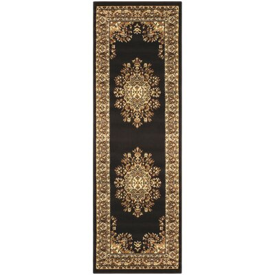 Dodington Coffee Area Rug Rug Size: Runner 27 x 8