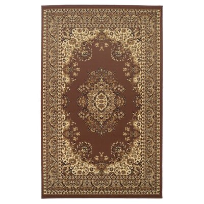 Dodington Traditional Coffee Area Rug Rug Size: Rectangle 5 x 8
