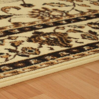 Dodington 3 Piece Ivory Area Rug Set