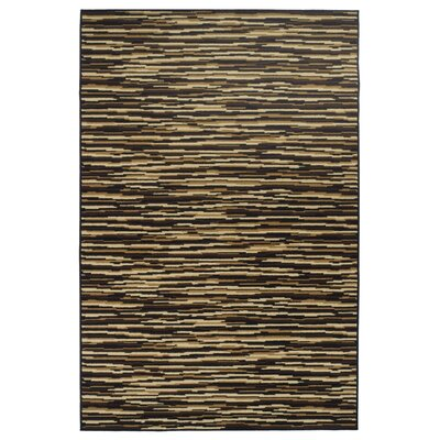 Saylorsburg Modern Brown Area Rug Rug Size: Rectangle 4 x 6