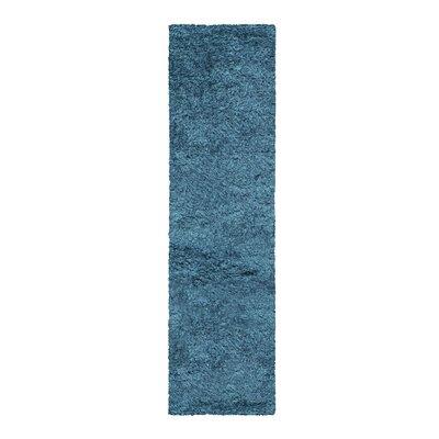 Blaisdell Shag Hand Woven Marina Area Rug Rug Size: 5 x 8