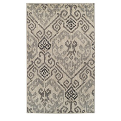 Callicoon Damask Oriental Beige Area Rug Rug Size: 8 x 10