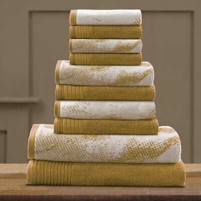 Pressman Cotton 10 Piece Towel Set Color: Bronze