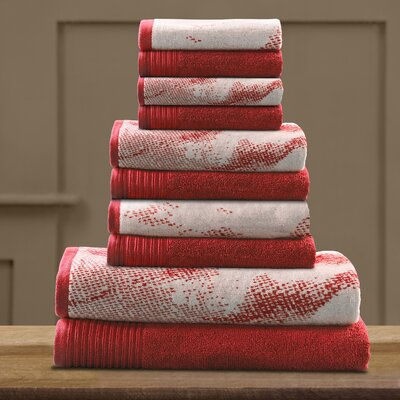 Pressman Cotton Towel Set Color: Terra Cotta