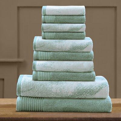 Pressman Cotton Towel Set Color: Teal