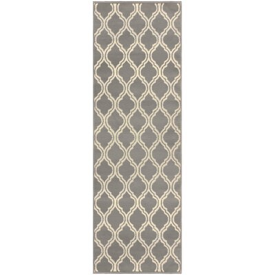 Vancamp Gray Area Rug Rug Size: Rectangle 8 x 10