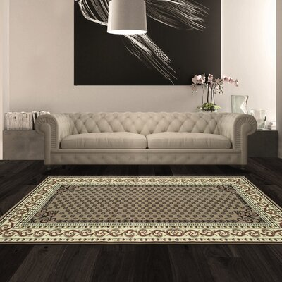Greig Brown Area Rug Rug Size: Rectangle 4 x 6